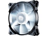 Coolermaster Jetflo 120 120mm 800-2000RPM 95CFM 2.72MMH2O 19-28DBA Pom Bearing White LED Fan (COOLERMASTER: R4-JFDP-20PW-R1)