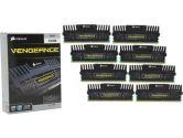 Corsair Vengeance Pro Silver Heatspreader DDR3-1866 MHz 64GB/8 CL9-10-9-27 XMP 1.3 Desktop Memory (Corsair: CMY64GX3M8A1866C9)