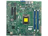 Supermicro X10SLL-F Xeon E3 LGA1150 DDR3 ECC C222 6SATA 3PCIE IPMI 2GBE mATX Motherboard (SuperMicro: MBD-X10SLL-F-O)