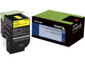 Lexmark 701HY Yellow Return Program Toner Cartridge  High Yield (Lexmark Printer Supplies: 70C1HY0)