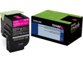 Lexmark 701HM Magenta Return Program Toner Cartridge  High Yield (Lexmark Printer Supplies: 70C1HM0)