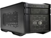 Coolermaster HAF Stacker 915F Mini-ITX 3X5.25 3X3.5 3XSSD Bay 2XEXPANSION Slots Computer Case No PSU (COOLERMASTER: HAF-915F-KKN1)