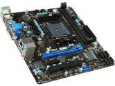 MSI A78M-E35 uATX FM2+ Dual Channel 2XDIMM Slot 1XPCIEX16 1XPCIE 6XSATA3 VGA DVI HDMI Motherboard (MSI: A78M-E35)