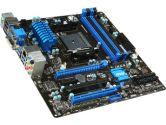 MSI A78M-E45 uATX FM2+ Dual Channel 4XDIMM Slot 2XPCIEX16 1XPCIE 6XSATA3 VGA DVI HDMI Motherboard (MSI: A78M-E45)