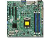Supermicro X10SLM+-F Xeon E3 LGA1150 DDR3 ECC C224 6SATA 3PCIE IPMI 2GBE mATX Motherboard (SuperMicro: MBD-X10SLM+-F-O)