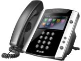 Polycom VVX 600 16-line POE Business Media Phone with built-in Bluetooth and HD Voice (Polycom: 2200-44600-025)