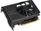 EVGA GeForce GTX 750 1GB GDDR5 128BIT DUAL-LINK DVI-I HDMI DP Graphics Card w/ G-SYNC Support (eVGA: 01G-P4-2751-KR)