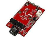 SATA TO MSATA SSD ADAPTER -- PORT MOUNTED SATA TO (Startech: SAT32MSATM)