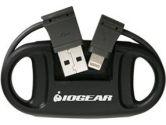 IOGEAR Charge N Sync Keychain Cable (IOGEAR: GULK1)
