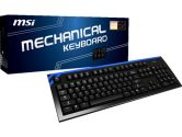 MSI Ck Series Black 104 Normal Keys USB 2.0 Cherry MX Red Wired Gaming Keyboard (MSI: S11-01US201-I81)