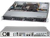Supermicro 6017B-MTLF 1U Xeon E5 2XLGA1356 DDR3 C602 RDIMM 4SATA PCIe IPMI 350W (SuperMicro: SYS-6017B-MTLF)