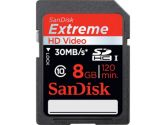 SanDisk 8GB Extreme SDHC Class 10 / UHS-1 30MB/S (SANDISK: SDSDX-008G-X46S)