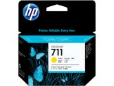 HP 711 3PK 29ML Yellow Ink Cartridge (HP Printers and Supplies: CZ136A)
