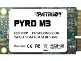 Patriot Pyro M3 240GB mSATA Internal SSD (Patriot: PP240GSM3SSDR)