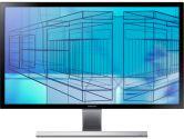 Samsung U28D590D 28in 4K Widescreen LED Monitor 3840X2160 UHD 1ms 1000:1 2x HDMI DisplayPort (Samsung: LU28D590DS/ZC)
