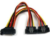 Startech.com 6in Latching SATA Power Y Splitter Cable Adapter - M/F (StarTech.com: PYO2LSATA)