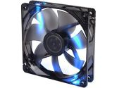 Thermaltake Pure Series 12  Blue LED 120mm High Airflow Fan (Thermaltake: CL-F006-PL12BL-A)
