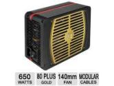 Thermaltake Toughpower Grand TPG-0650M SLI/CF 80 Plus Gold Fully Modular Active PFC Power Supply (Thermaltake: PS-TPG-0650MPCGUS-1)