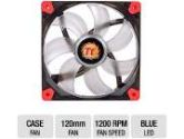 Thermaltake Luna Series 12 Blue LED 120mm Quiet High Airflow Fan (Thermaltake: CL-F009-PL12BU-A)