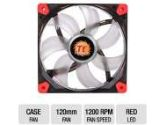Thermaltake Luna Series 12 Red LED 120mm Quiet High Airflow Fan (Thermaltake: CL-F017-PL12RE-A)