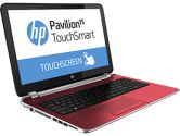 HP Pavilion Touchsmart Red 15-N041CA AMD A4-5000 6GB 500GB 15.6in Touch Radeon HD8330 Win8 Bilingual (HP Consumer: F0Q72UA#ABL)
