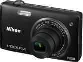 Nikon COOLPIX S5200 32161 Black 16MP 26mm Wide Angle Digital Camera (Nikon Inc: 32161)