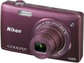 Nikon COOLPIX S5200 32163 Plum 16MP 26mm Wide Angle Digital Camera (Nikon Inc: 32163)