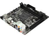 ASRock AM1H-ITX Mini ITX AM1 2XDDR3-1600 1PCIEX16 1MINI-PCIE USB 3.0 D-Sub DVI HDMI Motherboard (ASRock: AM1H-ITX)