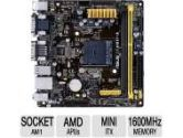 ASUS AM1I-A mITX AM1 DDR3 AMD 1PCI-E4 SATA3 RGB DVI HDMI Motherboard (ASUS: AM1I-A)