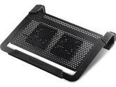 Coolermaster Notepal U2 Pluse Movable Fan Aluminum Notebook Cooling Pad (COOLERMASTER: R9-NBC-U2PK-GP)