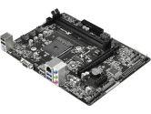 ASRock AM1B-M Micro ATX AMD1 2XDDR3 1600 1PCIEX16 1PCIEX1 2XSATA3 D-Sub USB3.0 Motherboard (ASRock: AM1B-M)