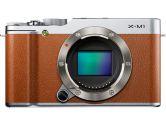 Fujifilm X-M1 - 16.3MP 3IN LCD HD ISO100-25600 Wireless Camera w/ XC16~50 Zoom Lens - Brown (FUJIFILM: 600012997)