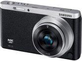 Samsung NXF1 20MP 3.0in Touch LCD FHD WIFI 9mm + 9-27mm/iFn Len Camera Black + Silver (Samsung Digital Cameras: EV-NXF1ZZB4ICA)