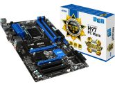 MSI H97 PC Mate mATX LGA1150 H97 DDR3 2PCI-E16 2PCI-E1 SATA3 HDMI 4K CrossFireX USB3.0 Motherboard (MSI: H97 PC Mate)