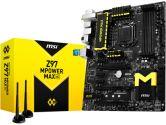 MSI Z97 Mpower Max AC ATX LGA1150 3PCI-E16 4PCI-E1 CrossFireX/SLI SATA3 4K HDMI USB3.0 Motherboard (MSI: Z97 MPOWER MAX AC)
