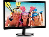 Philips 246V5LHAV 24IN Widescreen LED LCD Monitor 1920x1080 5ms 10M:1 VGA HDMI Speakers (PHILIPS: 246V5LHAB)