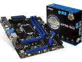 MSI H97M-G43 mATX LGA1150 DDR3 2PCI-E16 SATA3 CrossFireX DVI HDMI VGA 4K USB3.0 Motherboard (MSI: H97M-G43)