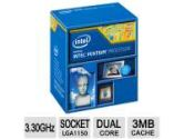 Intel Pentium G3440 Haswell 3.3GHZ Processor LGA1150 3MB Cache Retail (Intel: BX80646G3440)