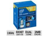 Intel Celeron G1840 2.8GHz LGA 1150 Desktop Processor (Intel: BX80646G1840)