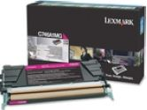 Lexmark C746A1MG Return Program Magenta 7K Page Yield Toner Cartrige for C746 and C748 (Lexmark: C746A1MG)