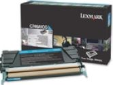 Lexmark C746A1CG Return Program Cyan 7K Page Yield Toner Cartrige for C746 and C748 (Lexmark: C746A1CG)