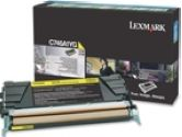 Lexmark C746A1YG Return Program Yellow 7K Page Yield Toner Cartrige for C746 and C748 (Lexmark: C746A1YG)