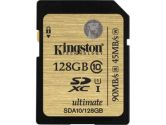 Kingston 128GB SDXC Class 10 UHS-I Ultimate Flash Card (Kingston: SDA10/128GB)