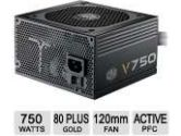 Cooler Master V750 – Compact 750W 80 PLUS Gold PSU with Modular Molex/SATA Cables (SLI/CrossFire Ready) (Cooler Master: RS750-AMAAG1-S1)