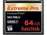 SanDisk Extreme Pro 64GB CompactFlash Card (SANDISK: SDCFXPS-064G-X46)