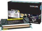 Lexmark YELLOW RETURN PGM TONER (Lexmark Printer Supplies: X746A1YG)
