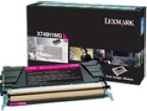 Lexmark X748 Magenta High Yield Return Program Toner Cartridge (Lexmark Printer Supplies: X748H1MG)