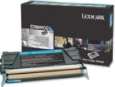 Lexmark C748 Cyan High Yield Return Program Toner Cartridge (Lexmark Printer Supplies: C748H1CG)