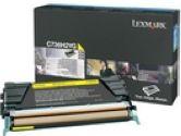 Lexmark C736 X736 X738 Yellow High Yield Toner Cartridge (Lexmark Printer Supplies: C736H2YG)