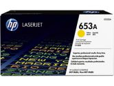 HP 653A Yellow Original LaserJet Toner Cartridge (HP Printer Supplies: CF322A)